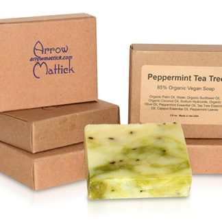 Arrow Mattick peppermint tea tree organic soap
