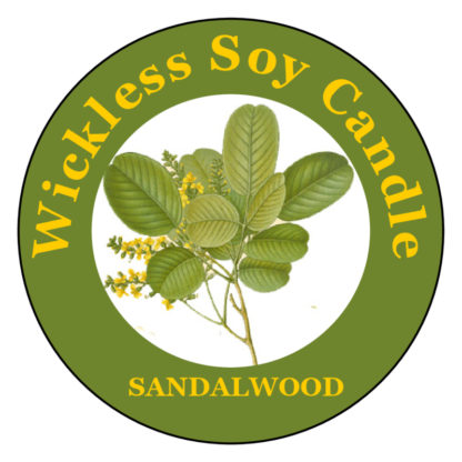 Sandalwood Wickless Candle
