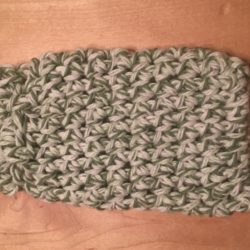 Soap Bag - Green Twist