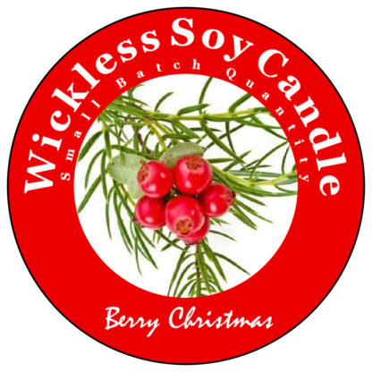 BerryChristmas Wickless Candle