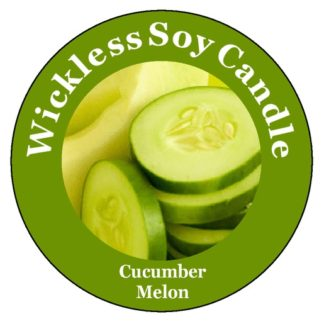 Cucumber Melon Wickless Candle