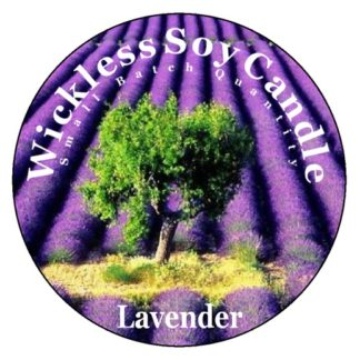 Lavender Wickless Candle