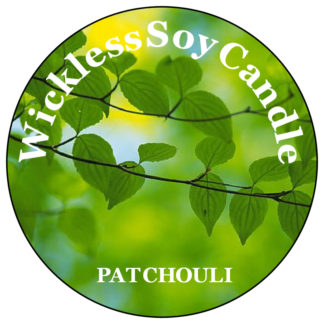 Patchouli Wickless Candle