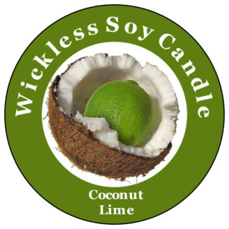 Coconut Lime Wickless Candle