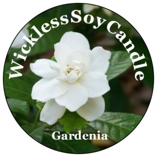 gardenia wickless candle