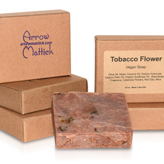 Arrow Mattick Tobacco Flower Handmade Soap