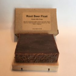 Root Beer Float Goat's Milk Soap