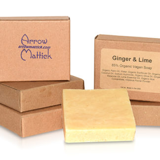 Ginger Lime Natural Aloe Soap