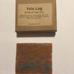 Yule Log Soap
