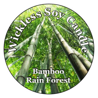 Bamboo Rain Forest Wickless Candle